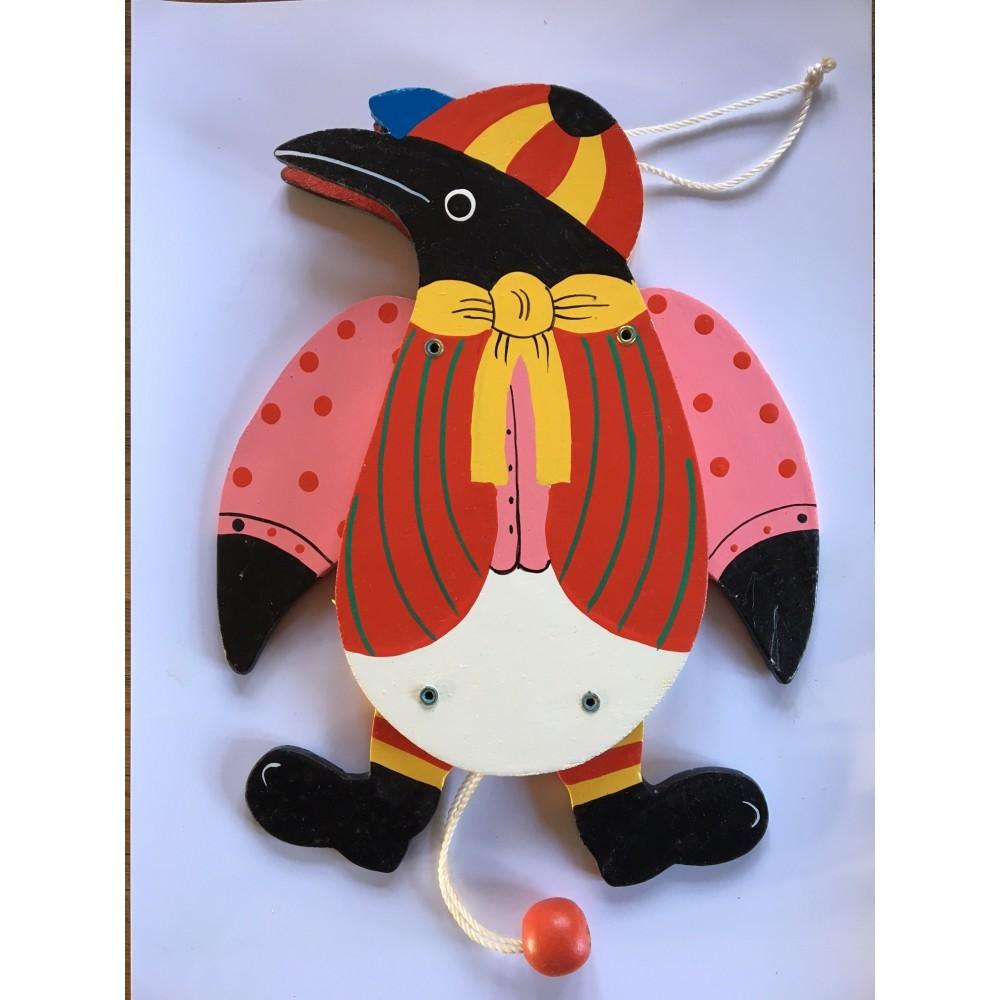 Rød Pingvin
